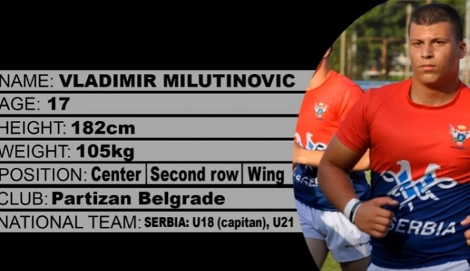 Rugby league Vladimir Milutinovic