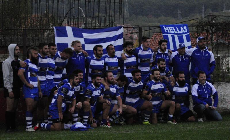Рагби 13 репрезентација Грчке
