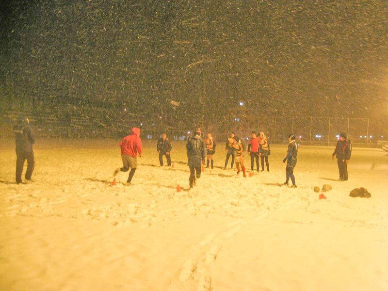 Орлићи на снегу