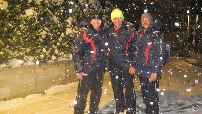 Орлићи на снегу тренери из Аустралије