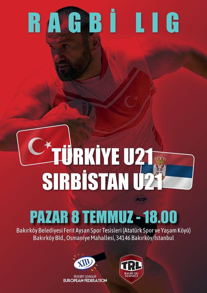 Ргби 13 репрезентација Србије